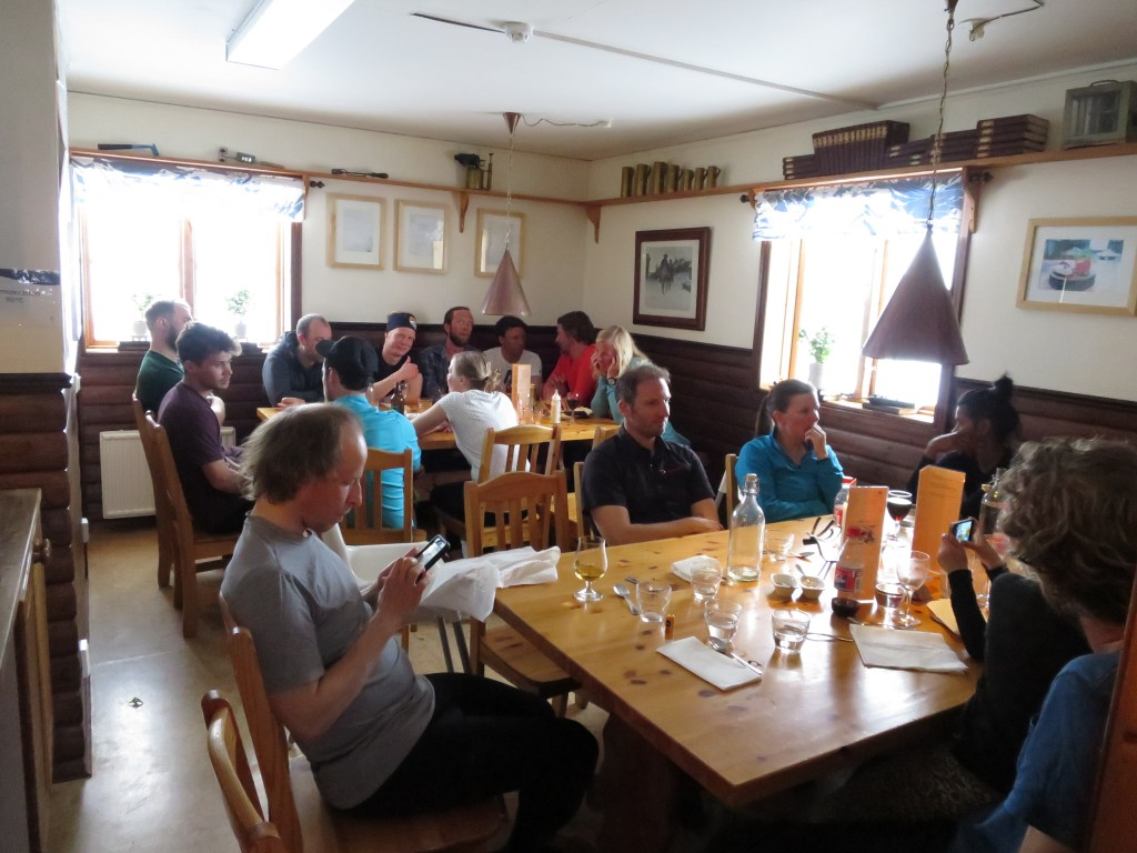 Tre Rätters middag på STF Blåhammaren. Foto: Mattias Skantz
